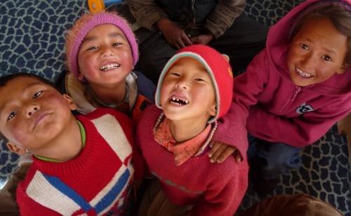 Das Lachen der Kinder...